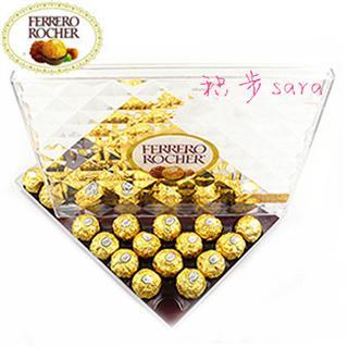 美国直邮 Ferrero费列罗 金莎 榛果 威化巧克力  水晶钻石礼盒