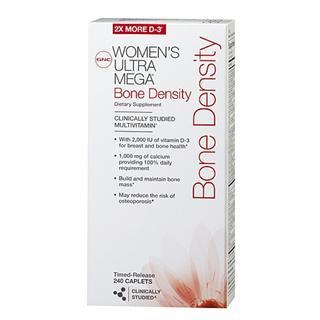 美国正品代购  GNC女性健骨维生素配方240片 增加骨密度任意三件包运