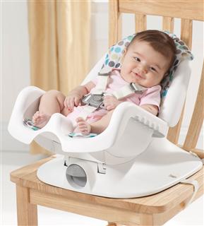 可调节The First Years福喜儿豪华躺卧婴儿宝宝便携式餐椅