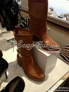 依美尚品MK 真皮 短靴