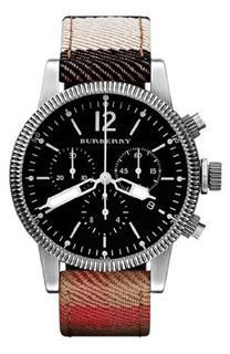巴宝莉Burberry代购美国专柜男款手表 BU7815 感恩特价 下单啦