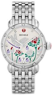 Michele CSX Garden Party MWW05D000004米歇尔限量版镶钻女表 正品