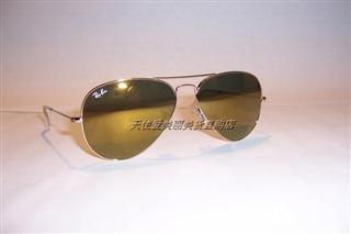 美国正品代购Ray Ban/RayBan 雷朋3025飞行员 反光镜太阳镜 3色美国直邮
