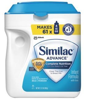 【两罐包邮价】Similac 雅培 1段金盾婴儿奶粉 658g / 964g