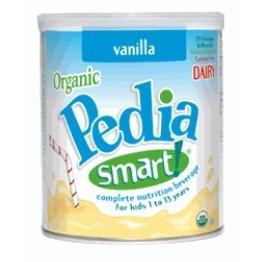 包邮★美国PediaSmart儿童有机高营养成长奶粉360g(3-13岁)香草味