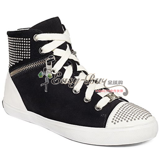 MICHAEL Michael Kors Shoes, Borum Studded High Top Sneakers