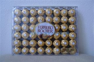 美国直邮 费列罗金莎FERRERO Rondnoir 榛果巧克力 48粒