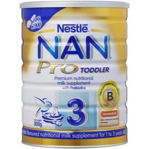 雀巢金装能恩Pro三段婴儿奶粉800g Nestle NAN Pro Baby Formula3