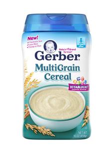 美国直邮 Gerber 嘉宝三段混合谷物米粉米糊 227g 9个月以上