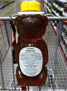 #吃货系列#美国纯天然Busy bee Honey小熊有机蜂蜜 任意2件起发