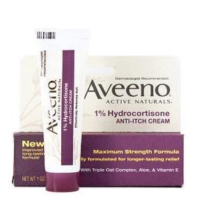 免运费!包美国直邮Aveeno强力抗敏止痒膏(含1%氢化可的松) 28克