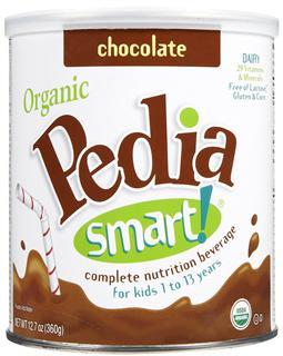 【代购直邮】美国PediaSmart儿童有机高营养成长奶粉360g(1-13岁)