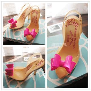 美国代购Vivienne westwood Lady Dragon薇薇安Melissa多色果冻鞋