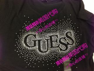 美国代购 Guess/盖尔斯 女士T恤  二件起拍每件199 单件229