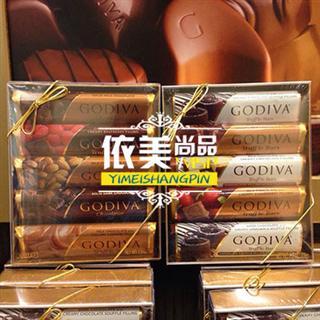 依美尚品 比利时 godiva 多种口味巧克力条 多种种口味任选
