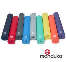 世界顶级瑜伽公司Manduka青蛙瑜伽垫黑垫彩色薄版彩光垫PROlite