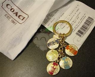美国现货 coach 钥匙扣 92305