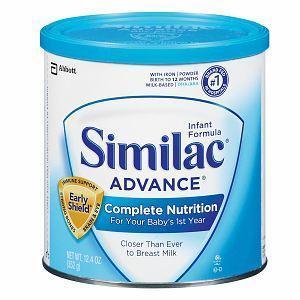 美国雅培Similac金盾婴儿配方奶粉一段 352克(0-12个月)