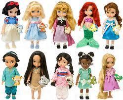 迪士尼Disney动画师Animators沙龙娃娃限量款木兰白雪公主美人鱼