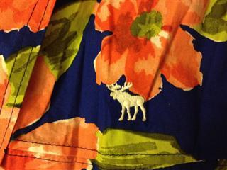 美国直邮 AF (小鹿)碎花高腰短裙 清新 阳光 大方