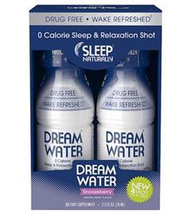 免运费包美国直邮天然助眠饮料梦之水Dream Water四瓶装 失眠救星