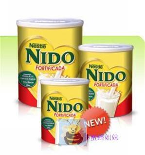 美国直邮雀巢Nido全脂奶粉360克鲜奶口感儿童成人老人全家共享
