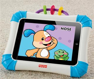 费雪Fisher Price宝宝ipad baby苹果平板电脑防摔保护套玩具