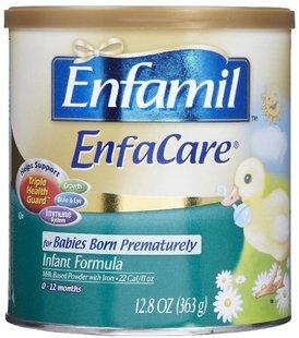 美国直邮原装进口 美赞臣 Enfamil 早产婴儿配方1段奶粉363g 代购