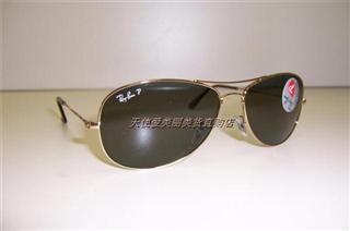 美国正品代购 Ray Ban/RayBan 3362 雷朋偏光墨镜太阳镜2色 美国直邮