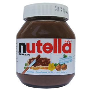 免运费!包美国直邮费列罗Nutella榛子巧克力酱榛果可可酱750g