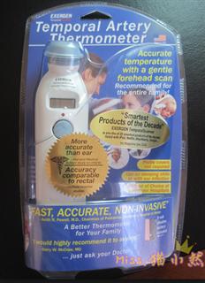 美国Exergen婴儿电子额温计 优于耳温计 TAT-200C