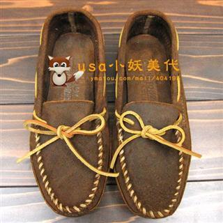 usa小妖 minnetonka 迷你唐卡double bottom softsole 723软底鞋