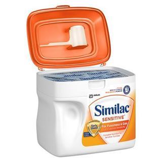 美国直邮雅培无乳糖 防过敏防涨气奶粉1段一段 657克