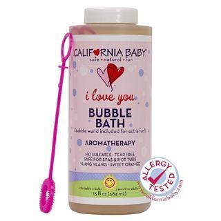 【美国直邮】CaliforniaBaby加州宝宝香薰泡泡浴液384ml 最全香型