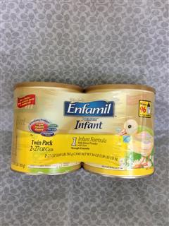 美国直邮:原装美赞臣金尊一段1段奶粉1530克(2罐装)Enfamil 13 年新包装