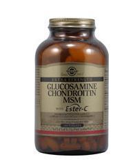 免运费!包美国直邮Solgar维骨力+酯化维生素C 含软骨素和MSM 180片