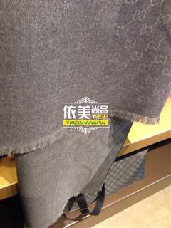 依美尚品 GUCCI 男女通用百搭款围巾 多色 带送礼包装盒子 4