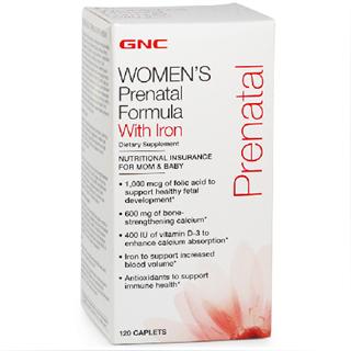 美国直邮 美国GNC孕妇综合维生素 120粒 新包装