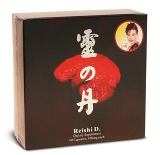 美国Reishi D灵の丹 灵之丹(含100%破壁灵芝孢子 虫草 蜂胶)
