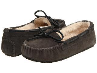 美国原盒包邮!迷你唐卡Minnetonka Cally Slipper毛毛保暖冬单鞋