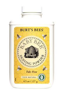 美国正品Burt's Bees小蜜蜂婴儿爽身粉100%天然不含滑石粉