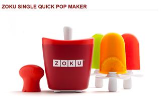 美国Zoku Quick Pop Maker不插电7分钟神奇雪糕机 冰激凌机  一只