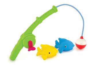 新包装 美国Munchkin麦肯奇 钓鱼戏水洗澡玩具 宝宝洗浴必备无毒