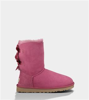 USA小妖美国代购 UGG BAILEY BOW 1002954蝴蝶结成人中筒短靴