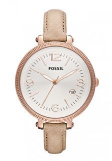 美国直邮Fossil/化石玫瑰金时尚女表ES3133