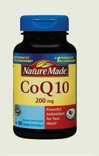 Nature Made CoQ10 200mg  80粒 辅酶Q10 护心脏