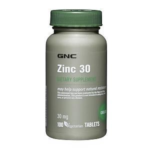免运费!包美国直邮GNC 葡萄糖酸锌 锌片 100粒 提高免疫增强性欲