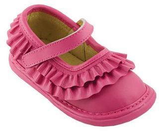 美国直邮 Wee Squeak 可爱舒适女童鞋 皮革鞋面 橡胶鞋底