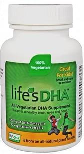 美国直邮 Martek马泰克Life's DHA婴幼儿海藻油DHA 90粒