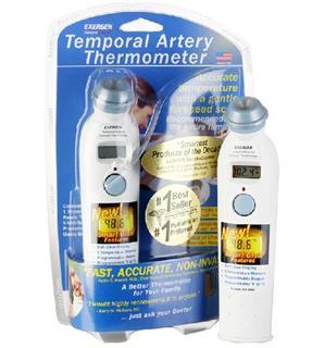 免运费!包美国直邮Exergen 婴儿电子体温计额头动脉温度计额温枪